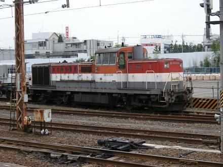 新鶴見機関区川崎派出のDE10・DE...